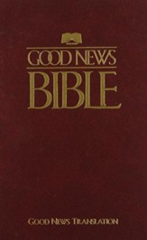 Good News Bible - Cloth, Maroon