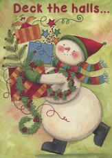 Deck The Halls (Psalm 118:24, NIV), 20 Count Boxed Christmas Cards