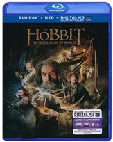 The Hobbit: The Desolation of Smaug, Blu-ray/DVD Combo
