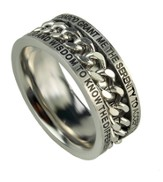 Chain Ring, Serenity, Size 8