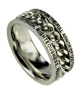 Chain Ring, Armor of God, Size 9
