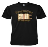 Keeping Jesus Visible, 400 Years Strong Shirt, Black, Small