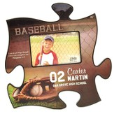 Personalized, Puzzle Photo Frame, Baseball