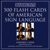 500 Flash Cards for American Sign Language