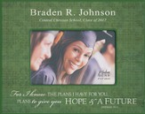 Personalized, Print Photo Frame, Graduation, 4x6, Green