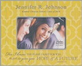 Personalized, Print Photo Frame, Graduation, 4x6,Yellow