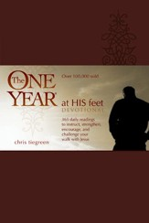 The One Year At His Feet Devotional - eBook