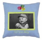 It's a Boy Photo Pillow