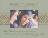 Personalized, Photo Frame, Graduation, 4x6, Tan