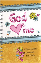God Hearts Me: A Devotional Journal for Girls