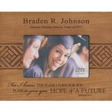 Personalized, Photo Frame, Graduation, 4x6, Cherry