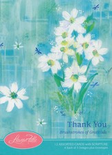 Brushstrokes of Gratitude Thank You Cards, Box of 12
