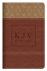 The KJV Study Bible Handy Size (Classic) - tan/brown   - Imperfectly Imprinted Bibles