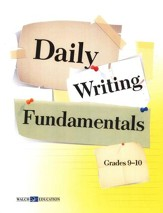 Daily Writing FUNdamentals, Grades 9-10
