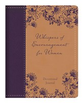Whispers of Encouragement for Women Devotional Journal