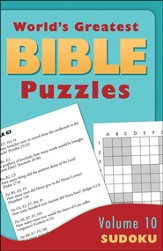 World's Greatest Bible Puzzles-Volume 10 (Sudoku)