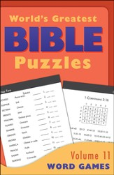 World's Greatest Bible Puzzles-Volume 11 (Word Games)