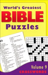 World's Greatest Bible Puzzles-Volume 9 (Crosswords)