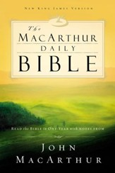 The MacArthur Daily Bible - eBook Read through the Bible in one year with John MacArthur