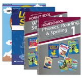 Grade 1 Homeschool Parent Language Arts Kit