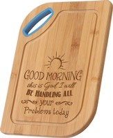 Good Morning, This Is God, Bamboo Cutting Board