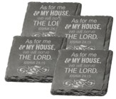As For Me and My House Coasters, Set of 4