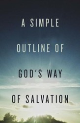 A Simple Outline of God's Way of Salvation (ESV), Pack of 25 Tracts