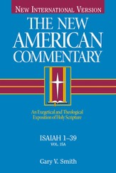 Isaiah 1-39: New American Commentary [NAC] -eBook