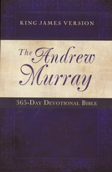 Andrew Murray 365 Day Devotional Bible, Paperback