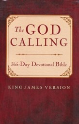 God Calling 365 Day Devotional Bible, Paperback - Adhesive Bound