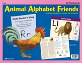 Animal Alphabet Friends Flashcards (set of 26 cards)