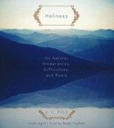 Holiness - unabridged audiobook on CD