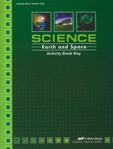 Science: Earth and Space Activity Book Key
