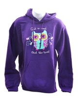 God Is Good, Hooded Sweatshirt, Purple, Medium