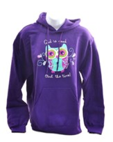 God Is Good, Hooded Sweatshirt, Purple, XX-Large