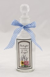 Delight Yourself In the Lord Glass Bottle