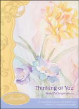 Beautiful Inspirations Thinking of You, Box of 12