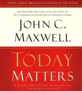 Today Matters - Audiobook on CD