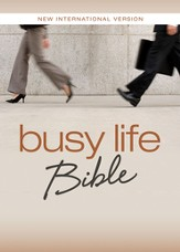 NIV Busy Life Bible: 60-Second Thought Starters on Topics That Matter to You - eBook