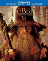 The Hobbit: An Unexpected Journey, 3D Blu-ray/DVD Combo