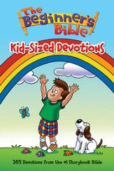 The Beginner's Bible: Kid-Sized Devotions - eBook