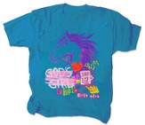 God's Girl Shirt, Turquoise, Youth Medium