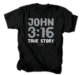 True Story Shirt, Black, Large