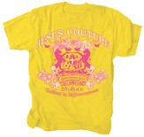 Jesus Couture Shirt, Yellow, XX Large