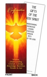 Confirmation Dove Bookmark, Pack of 25