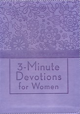 3-Minute Devotions for Women: Daily Devotional