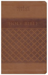 New Life Bible, Neutral Cover--Flexible plastic/vinyl cover