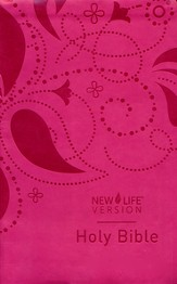 New Life Bible, Feminine Cover