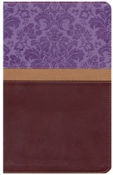 The KJV Study Bible, 2014 Women's Edition, Imitation Leather, Lavender/Brown