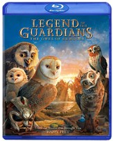 Legend of the Guardians: The Owls of Ga'Hoole, Blu-ray